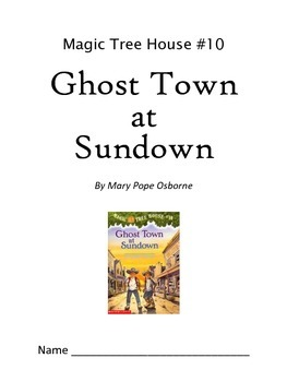 Ghost Town at Sundown Comprehension Guide