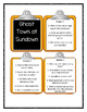Magic Tree House GHOST TOWN AT SUNDOWN - Discussion Cards