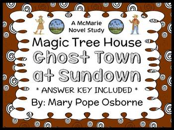 Ghost Town at Sundown: Magic Tree House #10 (Mary Pope Osb