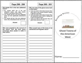 Ghost Towns of the American West - 5th Grade Reading Street