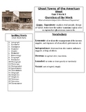 Ghost Towns of the American West Graphic Organizer