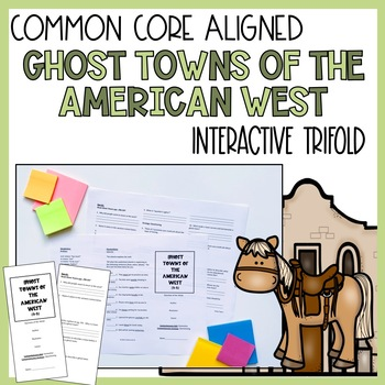 Ghost Towns of the American West Trifold (Reading Street 2011 Edition)