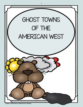 Ghost Towns of the American West - Trifolds
