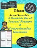 Ghost Unit - Journal & Comprehension Questions