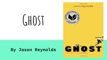 Ghost Vocabulary for Chapters 6-10