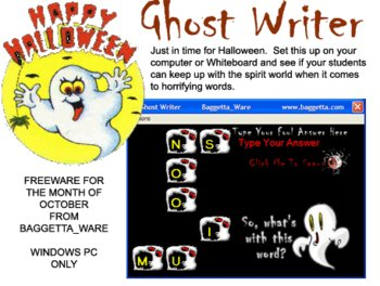 Ghost Writer Vocabulary Game