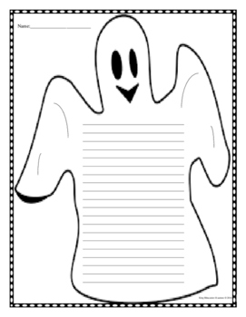 Ghost Writing Page