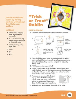 Ghost and Goblin Art Projects