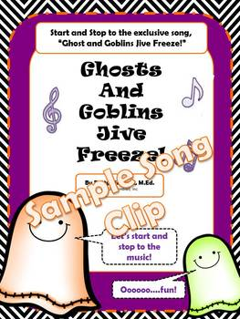 Ghost and Goblins Jive Freeze Music Sample