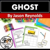 Ghost by Jason Reynolds Discussion Cards and Novel Study