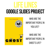 Ghost by Jason Reynolds - Life Line Activity