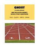 Ghost by Jason Reynolds - Novel Study
