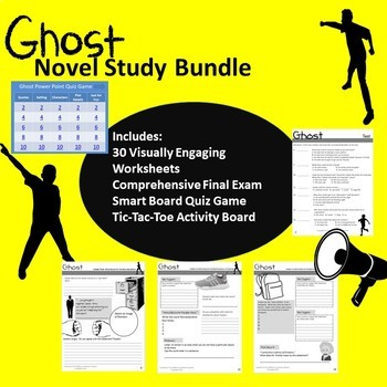 Ghost by Jason Reynolds Novel Study Bundle