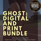 Ghost by Jason Reynolds Print and Digital Bundle