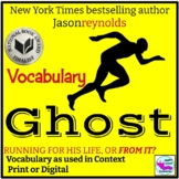 Ghost by Jason Reynolds Vocabulary in Context