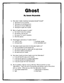 Ghost by Jason Reynolds - final test