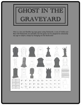 Ghost in the Graveyard (a flashcard game based on tag)