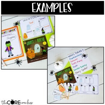 Ghost in the House: Interactive Read-Aloud Lesson Plans and Activities