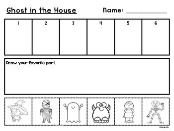 Ghost in the House Read Aloud Response: Sequencing