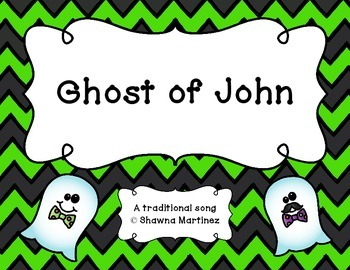 """""""Ghost of John"""" - A traditional song with an Orff arrangem"""