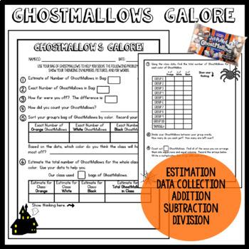 GhostMallow Math: Halloween Math Activities
