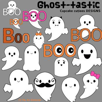 Ghostastic Ghost  Halloween Digital Clip Art Elements