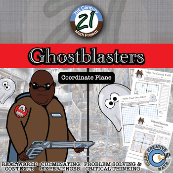 Ghostblasters -- Ordered Pair & Coordinate Plane Project