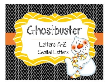 Ghostbuster Alphabet Recognition Capital Letters A-Z