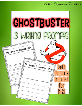 Ghostbuster Writing Pack K-2