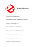 Ghostbuster movie (1) questions