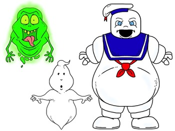 Ghostbusters Clip Art Set