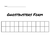 Ghostbusters Form Listening Lesson