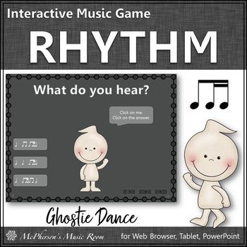 Rhythm 1 eighth/2 sixteenths - Ghostie Dance Interactive Music Game (ti-tiri)