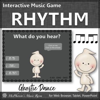 Rhythm ti-tiri & tiri-ti - Ghostie Dance Interactive Music Game