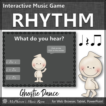 Rhythm Eighth Notes - Ghostie Dance Interactive Music Game (titi)