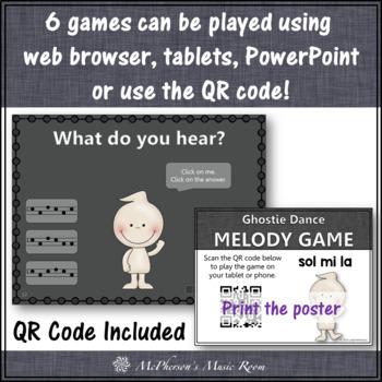 Ghostie Dance Interactive Melody Games {Bundle}