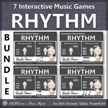Ghostie Dance Interactive Rhythm Games {Bundle}