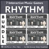 Fall Music Games: Interactive Rhythm Games Bundle {Ghostie}