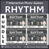 Fall Music Games ~ Interactive Rhythm Games Bundle {Ghostie}