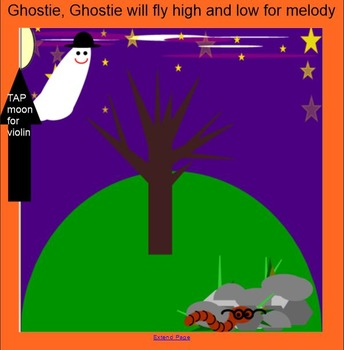 Ghostie, Ghostie - Halloween song- (melodic line, ta, titi, so & mi)
