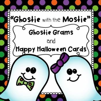 Halloween Ghostie with the Mostie:  Halloween Cards and Gh