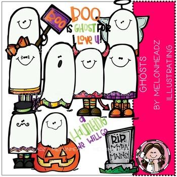 Melonheadz: Ghosties clip art - COMBO PACK