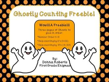 Ghostly Counting Freebie