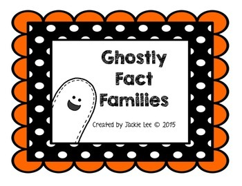 Ghostly Fact Families