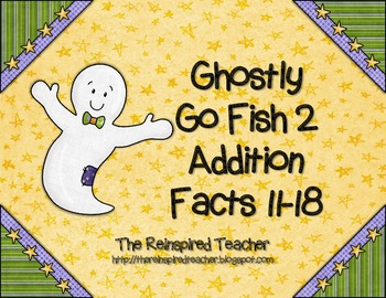 Ghostly Go Fish 2 Addition 11 - 18