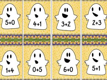 Ghostly Go Fish Addition Bundle Pack (All Facts 0-18)