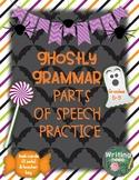 Ghostly Grammar: Parts of Speech Practice
