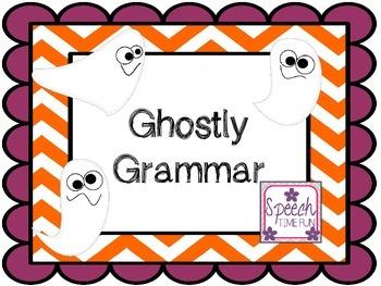 Ghostly Grammar FREEBIE