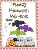 Ghostly Halloween Web Hunt - History of Halloween and Online Activities