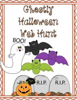 Ghostly Halloween Web Hunt - History of Halloween and Online Activities